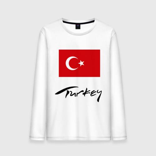 Мужской лонгслив хлопок Turkey (2)