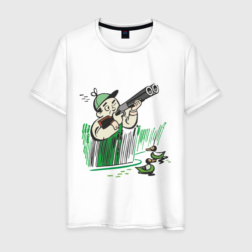 Мужская футболка хлопок Охота на дичь