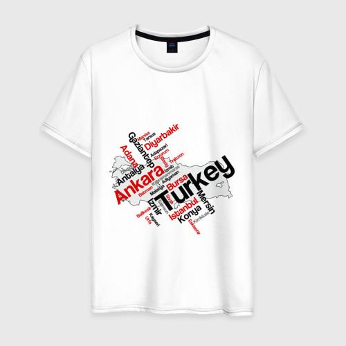 Мужская футболка хлопок Турция (крупные города)