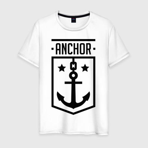Мужская футболка хлопок Anchor Shield