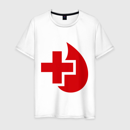 Мужская футболка хлопок Донор