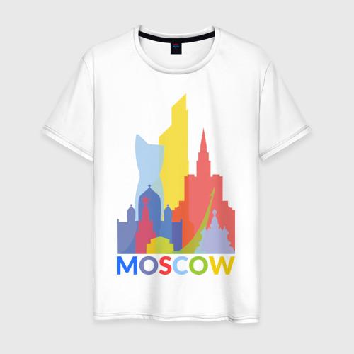 Мужская футболка хлопок Moscow (Москва)