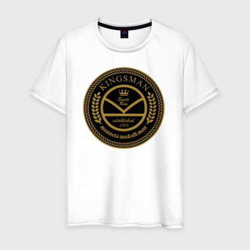 Мужская футболка хлопок Kingsman the tailors