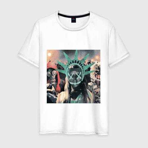 Мужская футболка хлопок Судная ночь 3